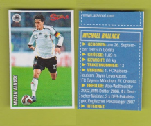 Germany Michael Ballack Chelsea (S06-07)